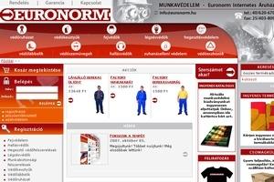 Euronorm Internetes Áruház