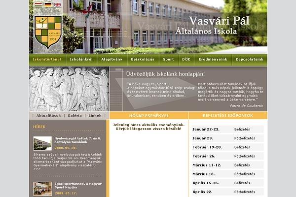 Vasvári Pál Ált. Iskola